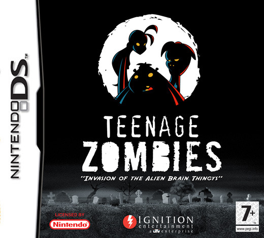 Teenage Zombies: Invasion of the Alien Brain Thingys! for DS