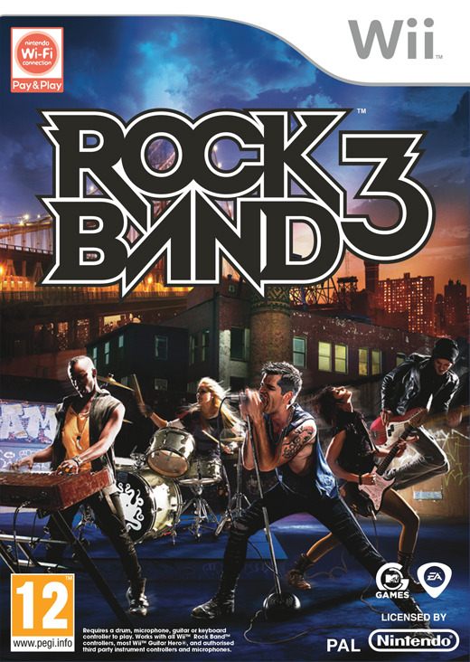 Rock Band 3 (Game Only) for Wii