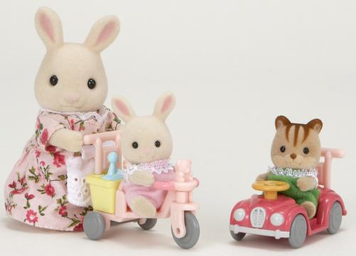Sylvanian Families: Babies Ride And Play