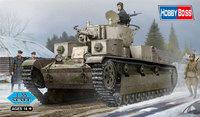 1/35 Soviet T-28 Medium Tank (Riveted) Model Kit