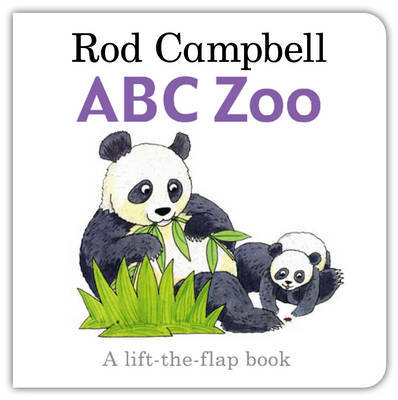 ABC Zoo: Lift the Flap by Rod Campbell image