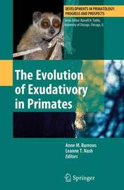 The Evolution of Exudativory in Primates image
