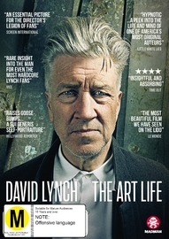 David Lynch: The Art Life on DVD