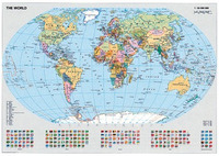 Ravensburger 1000pc Puzzle - Political World Map