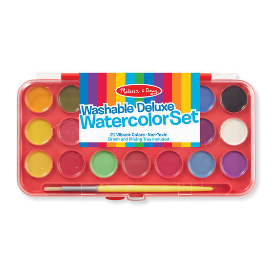 Melissa & Doug: Deluxe Watercolour Set image