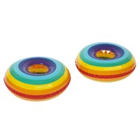 Sunnylife Inflatable Drink Holders - Rainbow