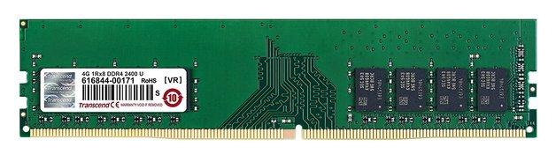 Transcend: JetRam 8GB DDR4-2400 U-DIMM