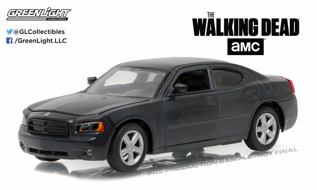 1/43: Dodge Charger - Police - Diecast Model