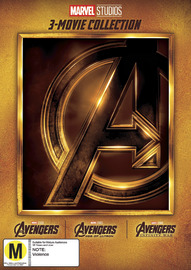 The Avengers: 3 Movie Collection on DVD