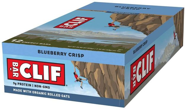 Clif Bar - Blueberry Crisp (Box of 12)