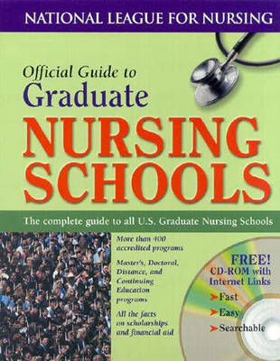 Official Guide to Graduate Nursing Programs by NLN - National League for Nursing image