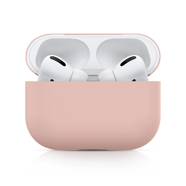 Airpods Pro Silicone Slim Light Protective Cover - Pink