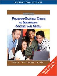 Problem Solving Cases in Microsoft Access and Excel by Ellen Monk image