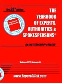 Yearbook of Experts, Authorities & Spokespersons, Vol XXV, No II image