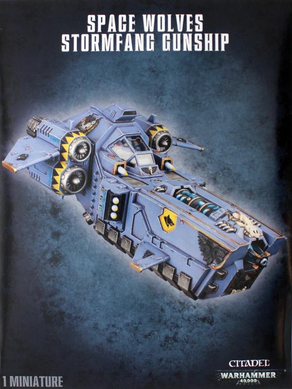 Warhammer 40,000 Space Wolves Stormwolf/Stormfang Gunship