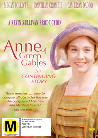 Anne of Green Gables: The Continuing Story DVD