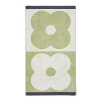 Orla Kiely Spot Flower Domino Bath Towel - Pistachio