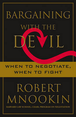Bargaining with the Devil by Robert Mnookin image