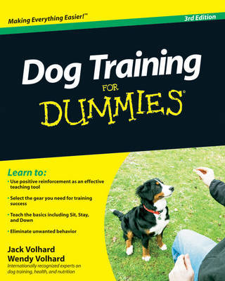 Dog Training For Dummies by Jack Volhard image