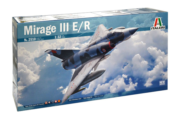 Italeri: 1/32 Dassault Mirage III E/R Model Kit