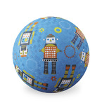 "Crocodile Creek 7"" Playground Ball - Robots"