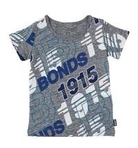 Bonds Short Sleeve Standard T-Shirt - Bonds Retro Logo (18-24 Months)