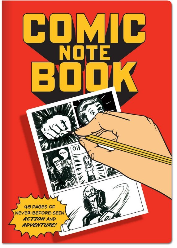 The Unemployed Philosophers Guild: Comic - Large Notebook