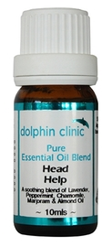 Dolphin Clinic Essential Oil Blend - Head Help (10ml)