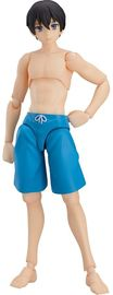 Figma: Male Swimsuit Body (Ryo) - Action Figure