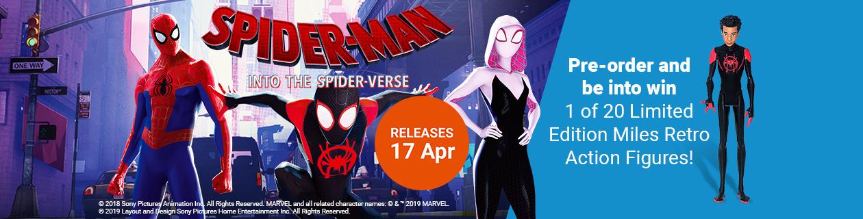 Spider-Man: Into the Spider-Verse: Week 3