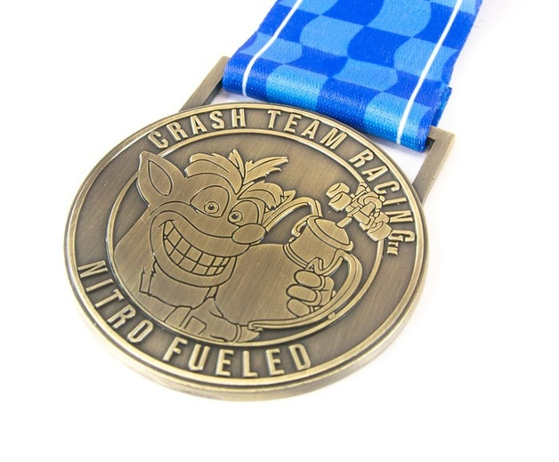 Crash Team Racing - 1st Place Medal