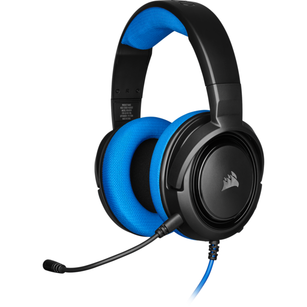 Corsair HS35 Stereo Gaming Headset (Blue) for PS4