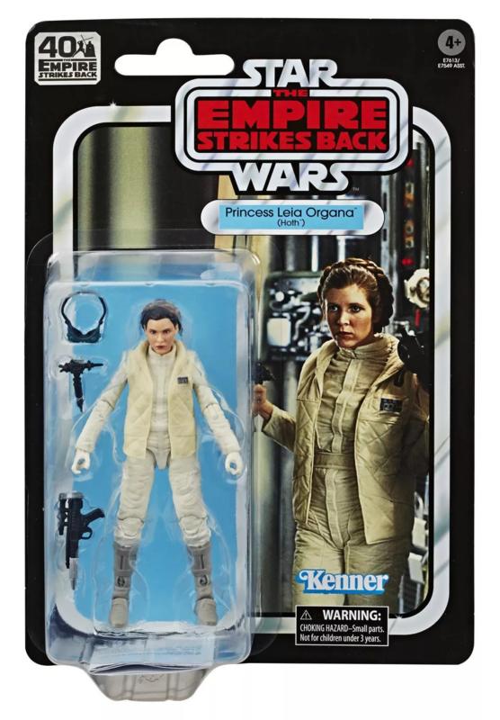 Star Wars: The Black Series Vintage Figure - Princess Leia Organa (Hoth)