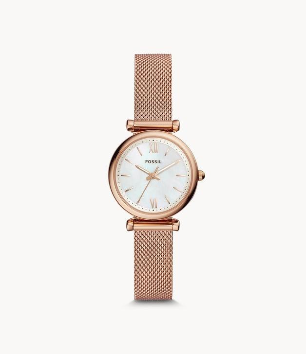 Fossil: Carlie Mini Watch - Rose Gold