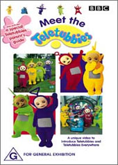 Meet The Teletubbies on DVD