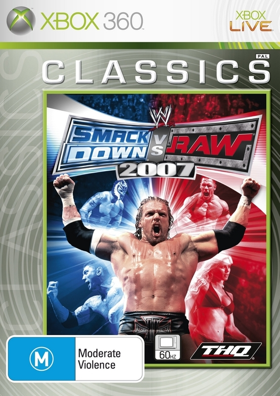 WWE SmackDown! vs. RAW 2007 for Xbox 360