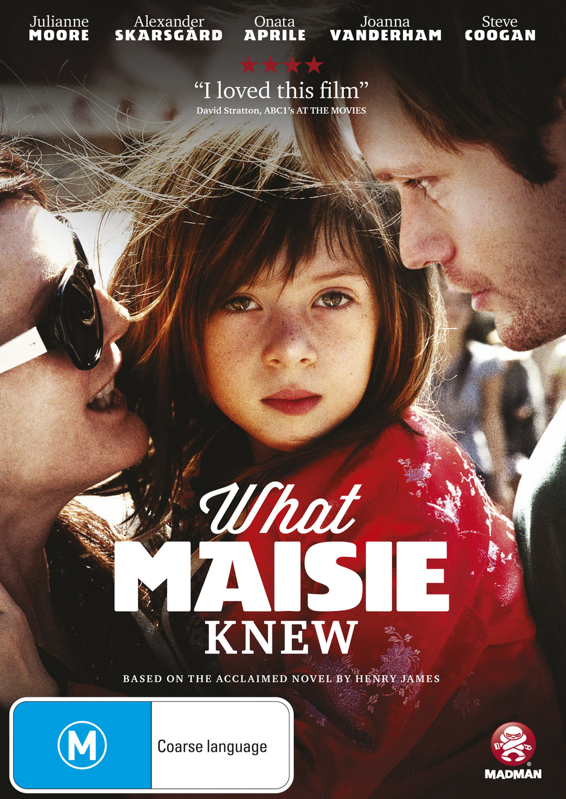 What Maisie Knew on DVD image