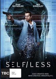 Self/less on DVD