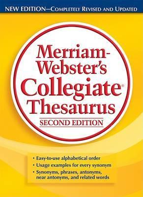 M-W Collegiate Thesaurus