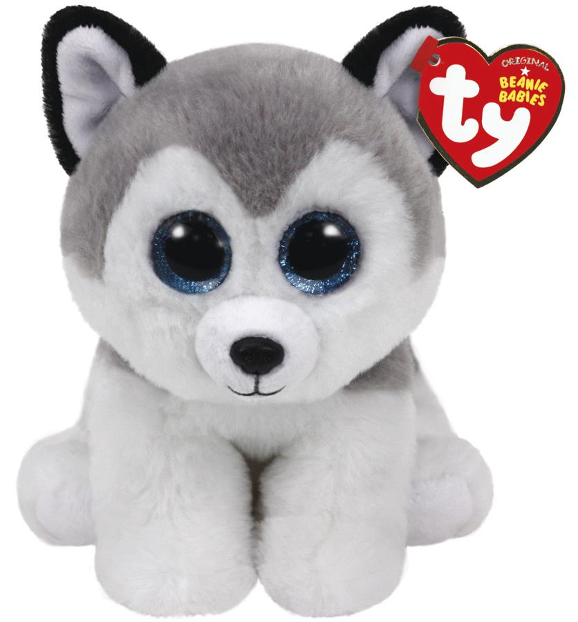 Ty Beanie Babies: Buff Husky - Small Plush image