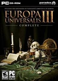 Europa Universalis III: Complete Edition (includes 2 expansion packs) for PC Games
