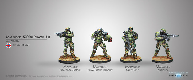 Infinity: Marauders, 5307th Ranger Unit