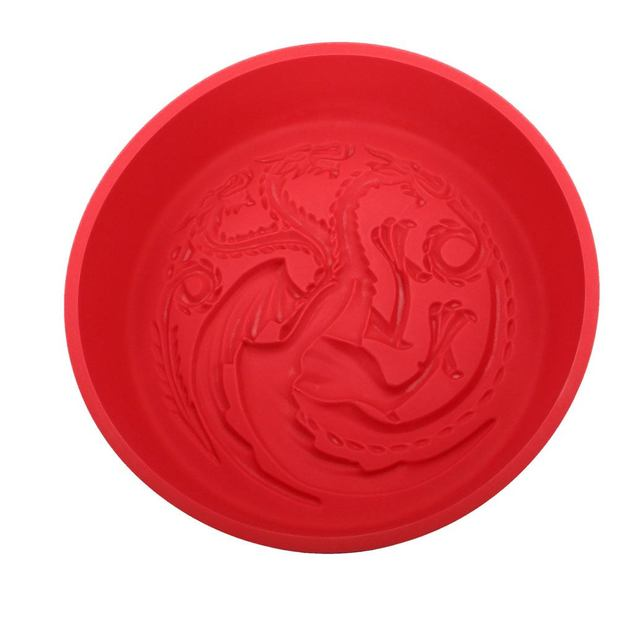 Game of Thrones: Targaryen Sigil - Silicone Baking Tray