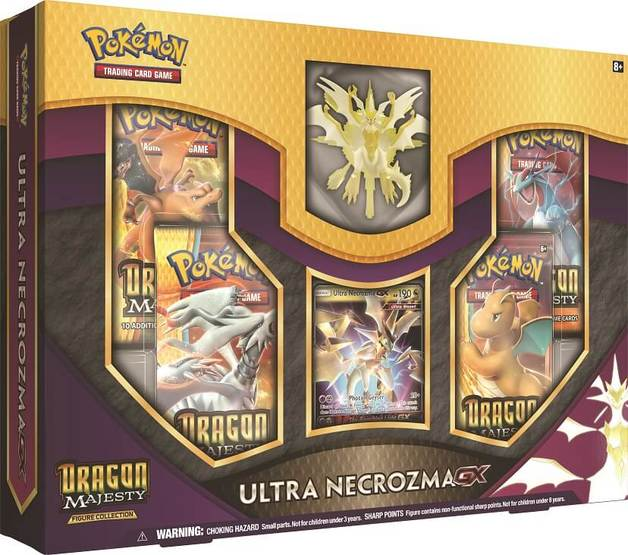 Pokemon TCG: Dragon Majesty Figure Collection - Ultra Necrozma-GX