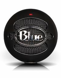 Blue Microphones Snowball iCE USB Condenser Microphone (Black) for PC