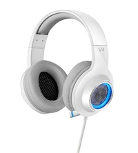 Edifier V4 Gaming Headset - White (PC & PS4) for