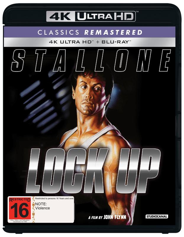Lock Up on Blu-ray, UHD Blu-ray