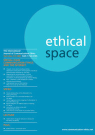 Ethical Space: v. 4. no. 1&2 image