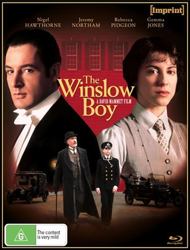 The Winslow Boy (Imprint Collection #15) on Blu-ray