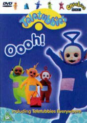 Teletubbies - Oooh! on DVD